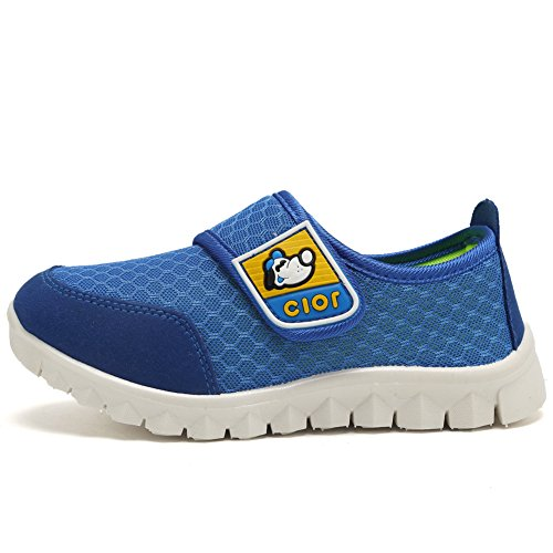 CIOR Kid's Mesh Lightweight Sneakers Baby Breathable Slip-On For Boy and Girl's Running Beach Shoes(Toddler/Little Kid) 13