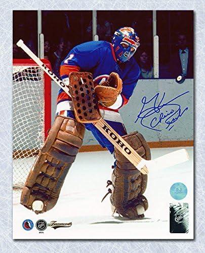 Chico Resch New York Islanders Autographed Hockey 8x10 Photo