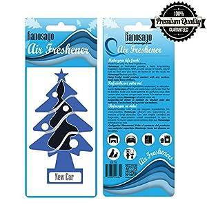 Automotive Air Freshener - Car Freshener Tree - House Air Freshener - New car - Pack of 24