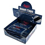 Insert Tape Black Smooth 3/4 inch Display Box/24 - BLACK / 3/4