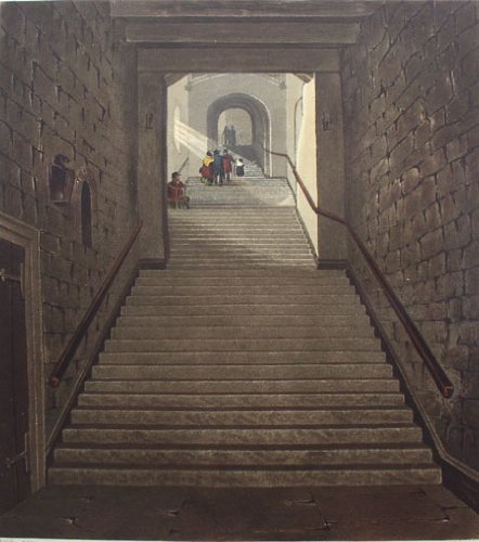 Ancient Staircase, Round Tower, Windsor Castle