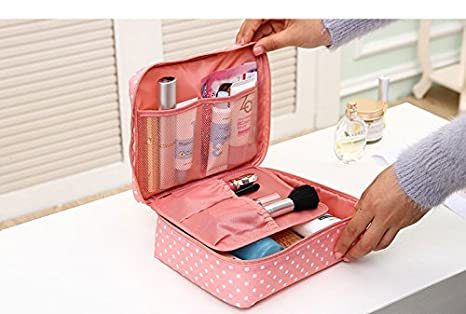 89d80f7eed02 Zipper new Man Women Makeup bag Cosmetic bag beauty Case Make Up Organizer  Toiletry bag kits