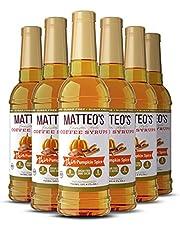 Matteo's Sugar Free Coffee Flavoring Syrup, Pumpkin Spice