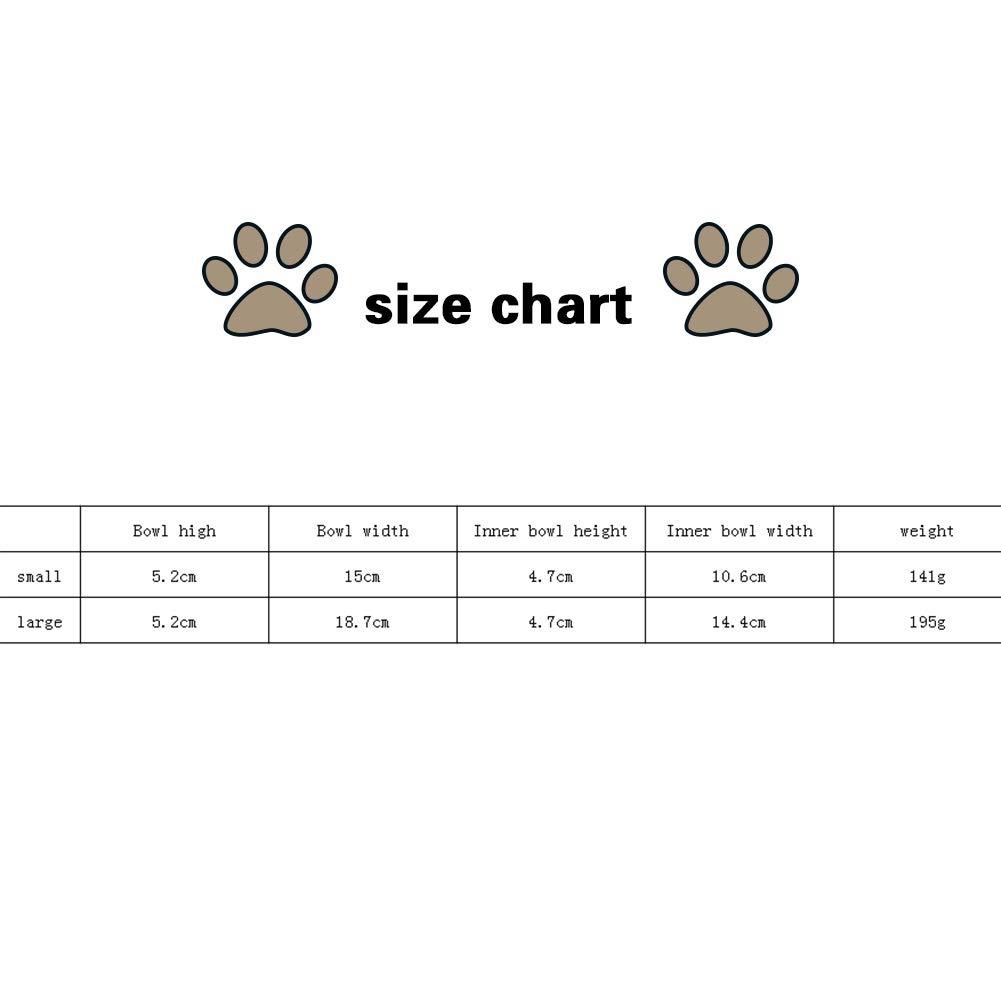 Hemore Crate Dog Ciotola Rimovibile in Acciaio Inox Coop Coppa Hanging Pet Cage Ciotola Piccola Acqua Feeder Cibo per Cani Gatti Conigli Birdsgreen Pet Supplies