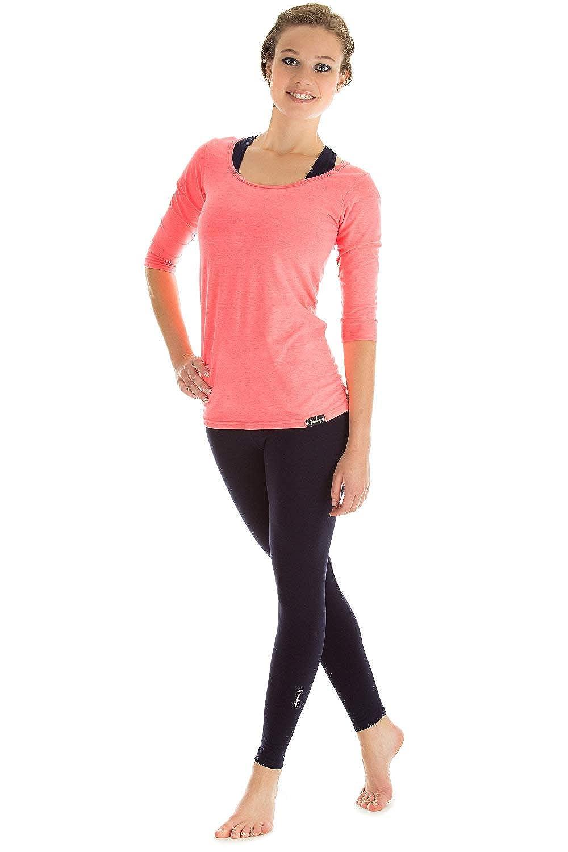 Winston Tempo Libero Yoga e Pilates. Maglia a Maniche Corte WTR4 per Fitness