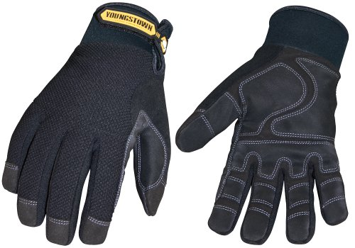 Youngstown Glove 03-3450-80-XXL Waterproof Winter Plus Performance Glove XXLarge, Black by Youngstown Glove Company (Image #1)