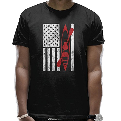 can Flag Men's Classic Cotton Short Sleeve Crew T-Shirt ()