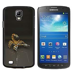 LECELL--Funda protectora / Cubierta / Piel For Samsung Galaxy S4 Active i9295 -- Escorpión Bot Mech Robot --
