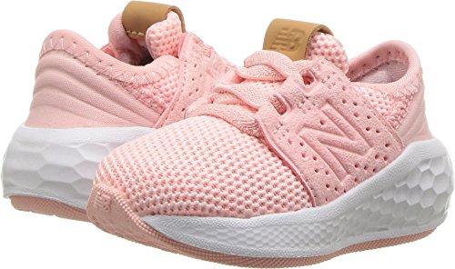 New Balance Girls' Cruz V2 Fresh Foam Running Shoe, Himalayan Pink, 7.5 M US ()