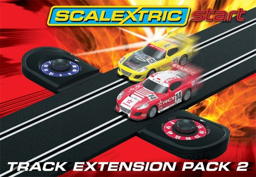 Scalextric 1:32 Start Track Extension Pack 2 Lap Counter (Scalextric Track Extension Pack)