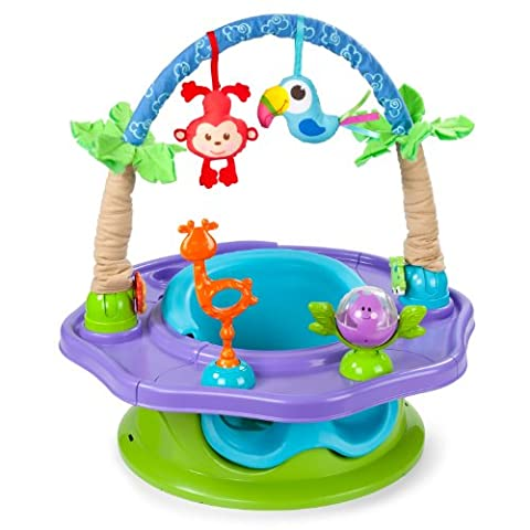 Summer Infant 3-Stage SuperSeat Deluxe Giggles Island: Positioner, Activity Seat, and Booster, - Summer Infant Sweet