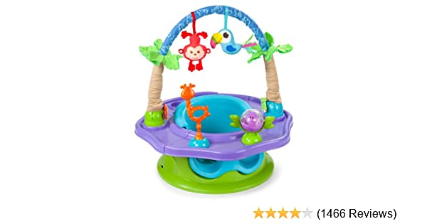 27ae27cad2ee Amazon.com   Summer Infant 3-Stage SuperSeat Deluxe Giggles Island ...