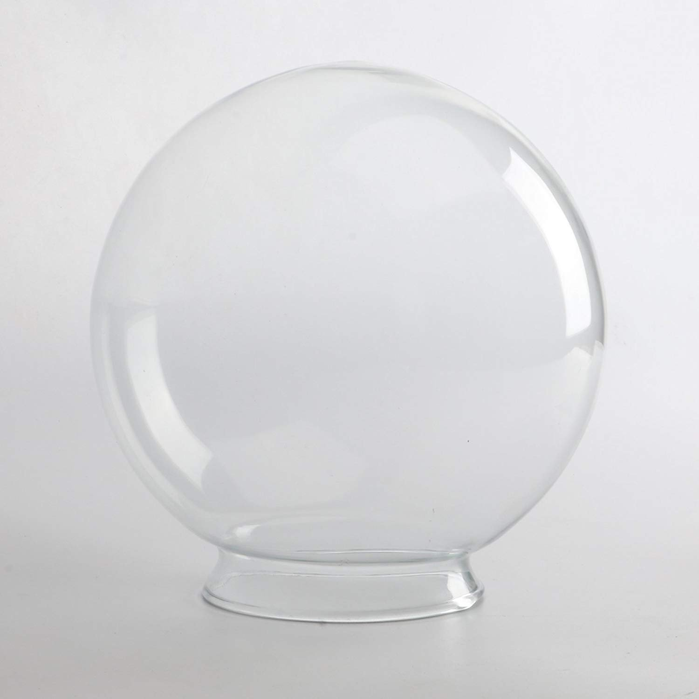 Sunwo Replacement Glass Shades White Glass Globe Any Size (8/10/12/14)