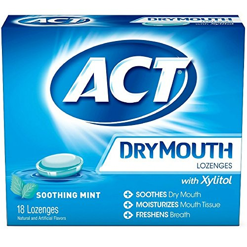 ACT Total Care Soothing Mint Dry Mouth 18 (Organic 18 Lozenges)