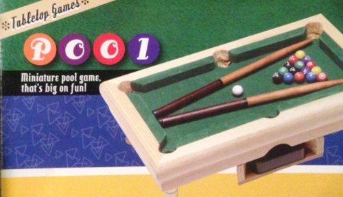 Awesome Amazon.com: Teeny Tiny Desktop Tabletop Pool Game   Miniature Pool Table:  Toys U0026 Games