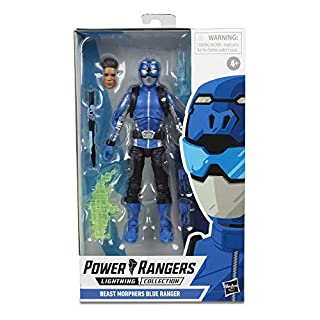 "Power Rangers Lightning Collection 6"" Beast Morphers Blue Ranger Collectible Action Figure Toy with Accessories"