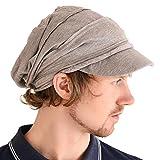065fdd4a3eb Casualbox Charm Mens Slouch Beanie Womens Slouchy Hat Peak Cap Breathable  Summer Winter Japanese Fashion Brown