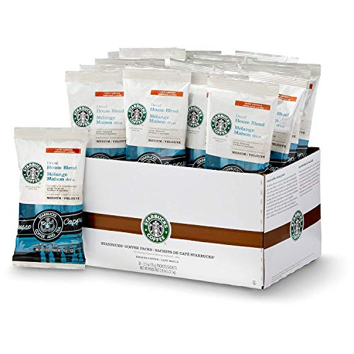 Starbucks Decaf House Blend, Portion Pack Coffee (18ct)