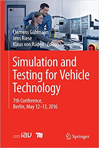 Simulation and Testing for Vehicle Technology: 7th