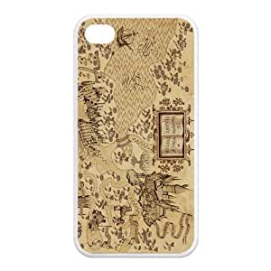 Zheng caseZheng caseAwesome Magic Harry Potter Marauder's Map Rubber Case Cover for iPhone 4/4s 4s
