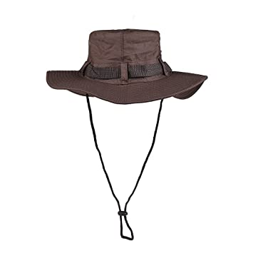 c28244339 CFORWARD Boonie Hat, Sun Hat for Men Women, Wide Brim UPF 50 UV Protection  Beach Cap, Breathable Outdoor Boonie Hats with Adjustable Drawstring ...