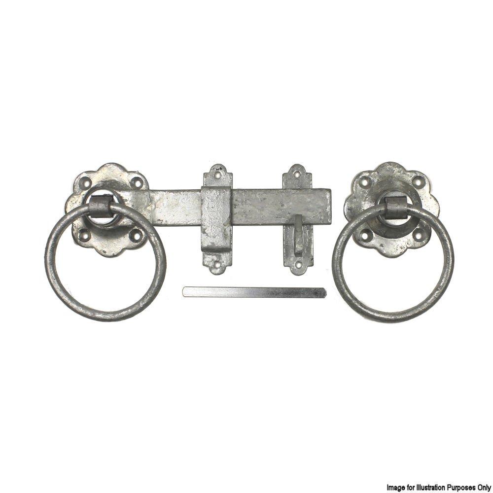 Securit 1136 Ring Gate Latch 150 mm galvanisé