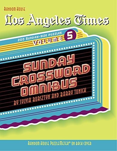 Los Angeles Times Crossword Puzzle Books