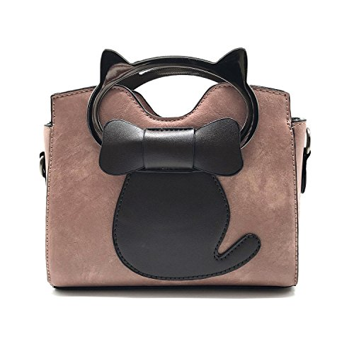Bags Satchel Cat Top M EPLAZA Handbags Women Cross Small Purse Shoulder Girls Handle Body wppUqx8fZ
