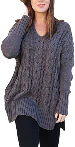 Sidefeel Women Casual Sweater Pullover