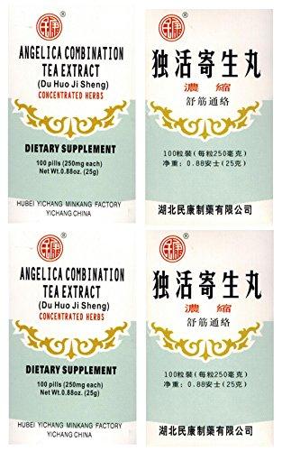 4 x Angelica Combination Tea Extract(du huo ji sheng wan)D007
