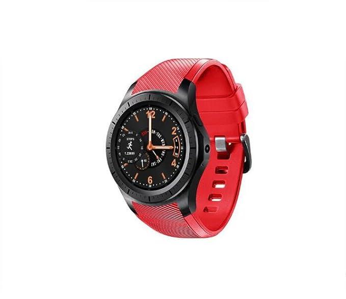 Smart Watch Tarjeta para Adultos Reloj para teléfono Cámara WiFi Internet QQ WeChat Reloj para Android