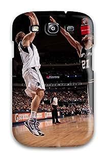 Holly M Denton Davis's Shop sports nba basketball san antonio spurs athletes dirk nowitzki dallas mavericks tim duncan NBA Sports & Colleges colorful Samsung Galaxy S3 cases 6010805K105138014