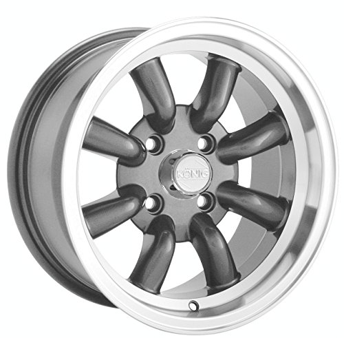 Konig Rewind Graphite Wheel with Machined Lip - Machined Lip Wheels