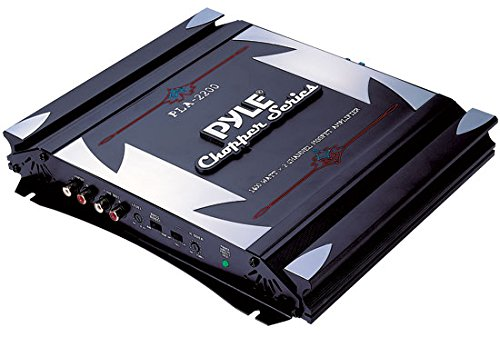 Pyle PLA2200 2-Channel 1,400-Watt Bridgeable Mosfet Amplifier (Skyhawk Series)