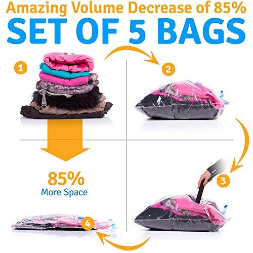 Mr Stimer Vacuum Storage Bags Compressed product image