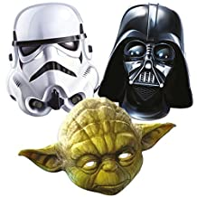 Star Wars 3 Mask Pack - Includes Darth Vader, Stormtrooper and Yoda