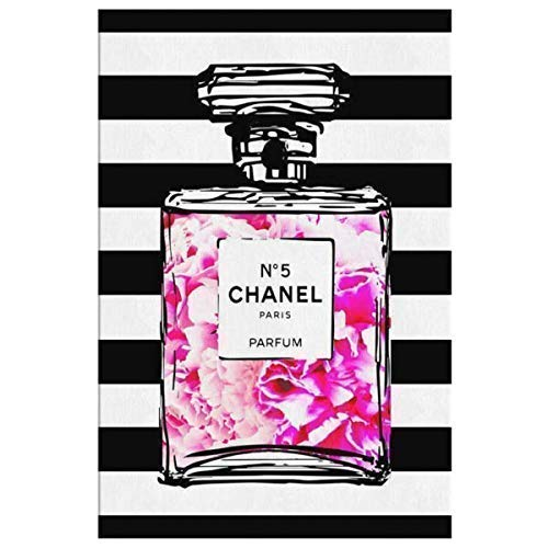a64c6b40d2ef6 Amazon.com: Coco Chanel Art for the Wall Decor Chanel Perfume Canvas ...