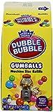 Dubble Bubble Gumballs Machine Size Refills 12 oz. Carton