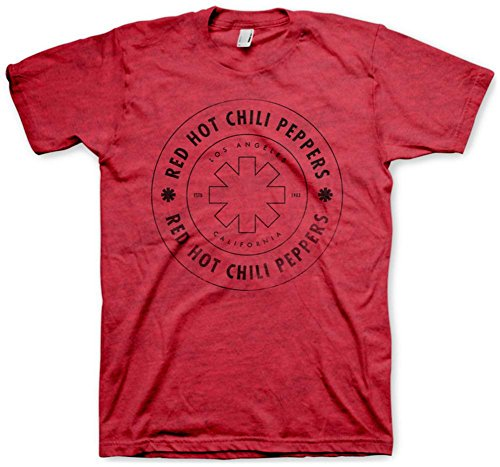 Red Hot Chili Peppers - Wheel Outline T-Shirt Size S
