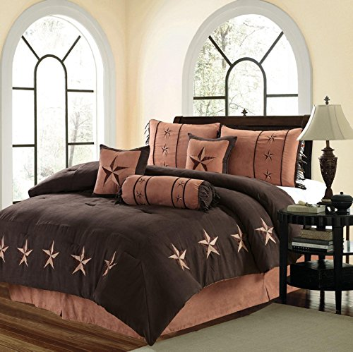 MB Collection 7 Piece WESTERN Lodge Oversize QUEEN (96