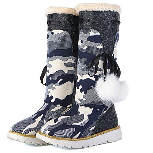 Eclimb Dames Zwarte Snowboots Us 8