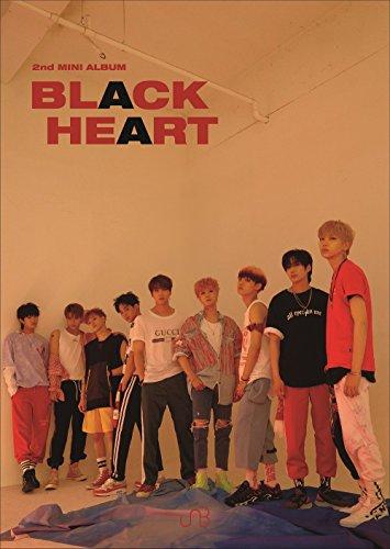 Interpark UNB - BLACK HEART [BLACK ver.] (2nd Mini Album) CD+Booklet+2Photocards+Folded Poster