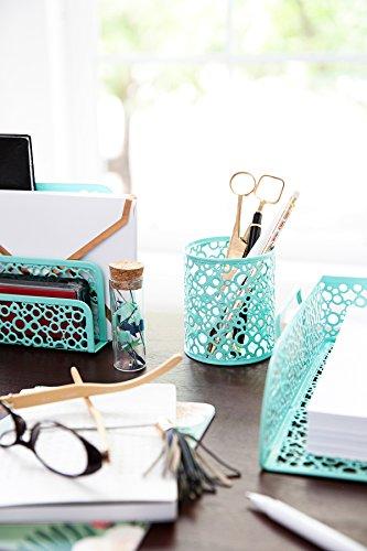blu monaco office supplies mint green desk organizers and accessories