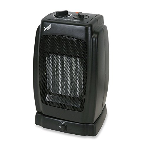 Oscillating Ceramic Heater by Comfort Zone with Rotary switc