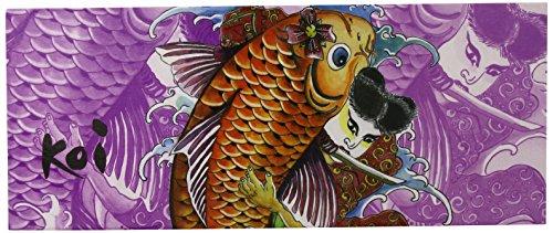 Herstyler Koi Purple Koi Flat Iron, Purple - Flat Koi
