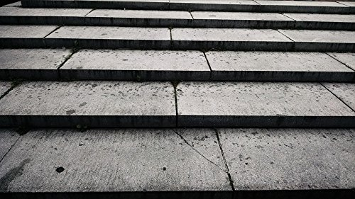 Level Step 36 (Home Comforts Laminated Poster Brown Stones Layers Stairs Texture Level Steps Poster Print 24 x 36)