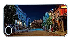 Hipster for cheap iPhone 4 cases San Francisco Streets PC White for Apple iPhone 4/4S