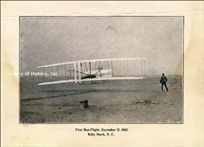 Orville Wright - Signed Photograph - December 17, 1903