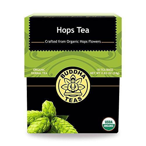 Organic Hops Tea Caffeine GMO Free