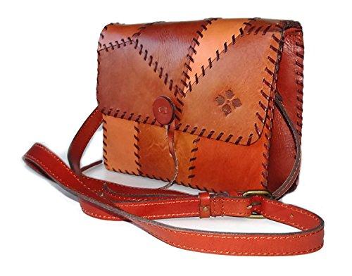 Patricia Nash Handbag Patchwork Collection Dante Crossbody Shoulder Bag